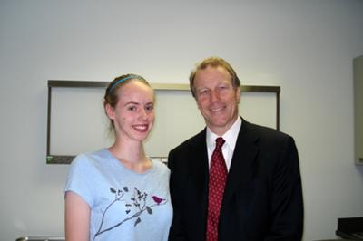 Me with Dr. Martin