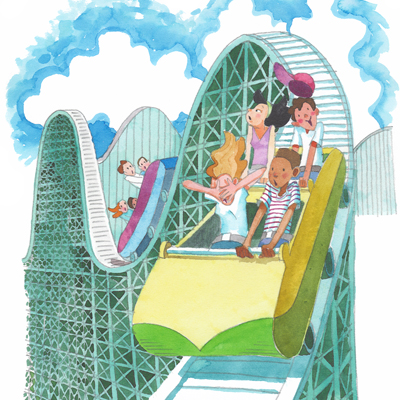 funny roller coaster pictures. Teenage Roller Coaster